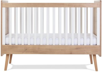 Silver Cross West Port Cot Bed , Dresser & Wall Shelf