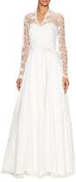 ABS by Allen Schwartz Amazing Lace Wedding Gown