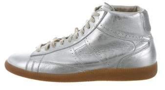 Maison Margiela Metallic Replica Sneakers