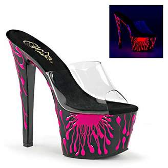 Pleaser USA Women's Sky301-5/C/B-Nhp Platform Dress Sandal