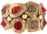 Oscar de la Renta Resin Beaded Cuff