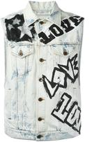 Faith Connexion 'Do It' denim vest - men - Cotton - S