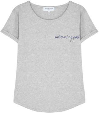 Maison Labiche Swimming Pool Grey Cotton T-shirt
