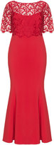 Ariella Plus Size Lace evening dress