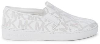 MICHAEL Michael Kors Keaton Logo-Print Sneakers