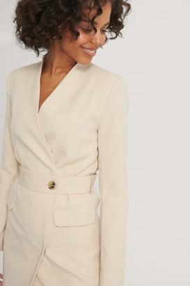 Trendyol Belted Jacket Dress