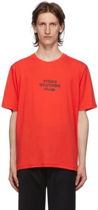 Stolen Girlfriends Club Red Techno Punk T-Shirt