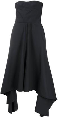 Rokh Strapless Bustier Dress