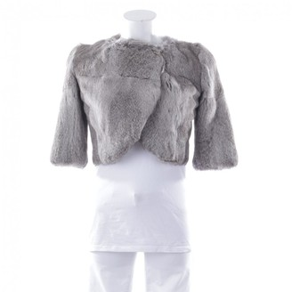 Matthew Williamson Grey Fur Jacket for Women