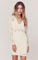 Nightcap Clothing deep v cutout dress