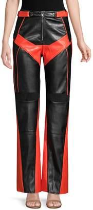 I.AM.GIA Octavia Bicolor Leather Pants