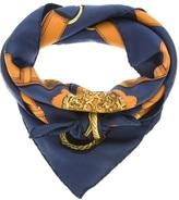 Hermes Vintage belt print scarf