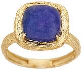 ADI Paz Tanzanite Cabochon Textured Ring 14K Gold