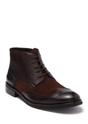 English Laundry Caden Leather & Suede Wingtip Boot