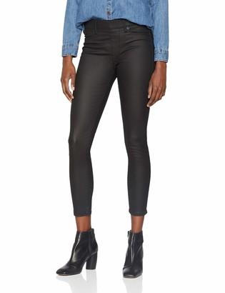 True Religion Women's Leather Look Like Jegging Leggings