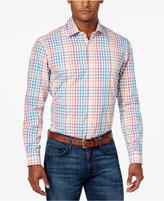 Club Room Men's Plaid Cotton Shirt, Only at Macy's