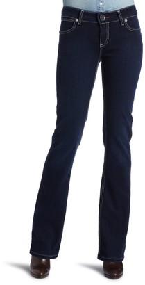 Wrangler Women's Booty Up Low Rise Jean Dark