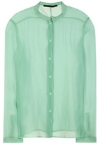 Haider Ackermann Sheer Silk Shirt