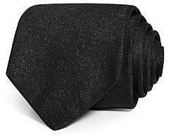 Eton Metallic Solid Silk Classic Tie