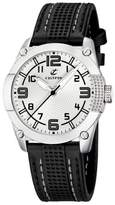 Calypso Women's K5205/1 Correa Deportivo White Dial Black Strap Watch
