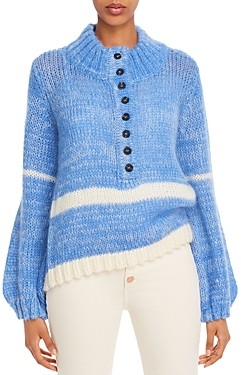 Just Female Dolly Mock Neck Sweater