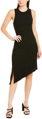 David Lerner Asymmetrical Shift Dress