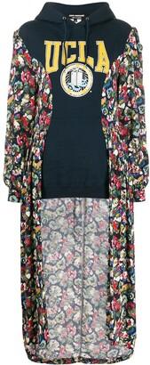 Junya Watanabe Contrast Style Cardi-Coat