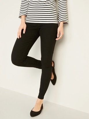 Old Navy Super Skinny Black Pull-On Jeggings for Women