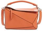 Loewe 'Puzzle' Leather Bag - Black