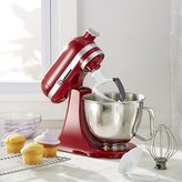 Crate & Barrel KitchenAid ® Artisan Empire Red Mini Mixer with Flex Edge Beater