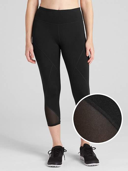 Gap GFast Mid Rise Capris in Eclipse