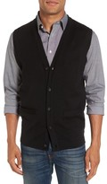 Nordstrom Men's Big & Tall Merino Button Front Sweater Vest