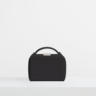 Theory Cube Bag in Leather