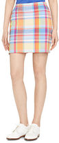 Polo Ralph Lauren Ralph Lauren Plaid Stretch Cotton Skort