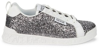 Versace Jeans Couture Sparkling Lace-Up Sneakers