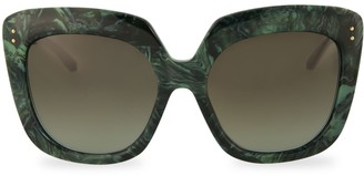 Linda Farrow Novelty 58MM Oversized Square Sunglasses