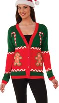 Forum Novelties Inc. Forum Men's Plus-Size Extra Large Sweet Things Christmas Ugly Cardigan