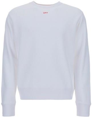 Off-White Stencil Crewneck Sweatshirt