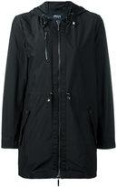 Armani Jeans zip hooded jacket - women - Polyester - 44