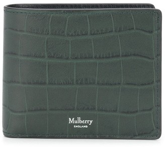 Mulberry Heritage 8 embossed wallet