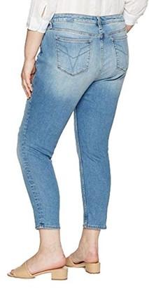 Vigoss Women's Plus Size Skinny Chelsea Jean 1