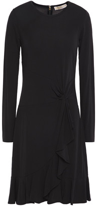 MICHAEL Michael Kors Twist-front Stretch-jersey Dress