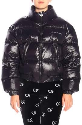 Chiara Ferragni Jacket Over Down Jacket In Shiny Nylon