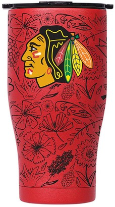 ORCA Chicago Blackhawks 27oz. Floral Chaser Tumbler with Lid