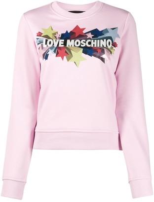 Love Moschino Star Print Sweater
