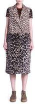 Stella McCartney Faux Fur Leopard-Print Vest