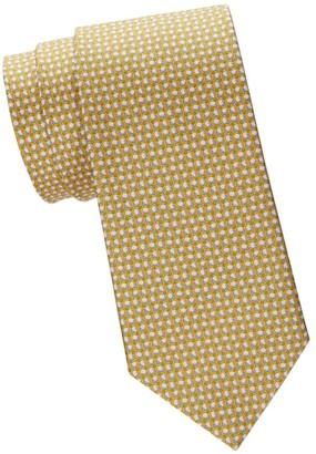 Salvatore Ferragamo Ping Pong Silk Tie