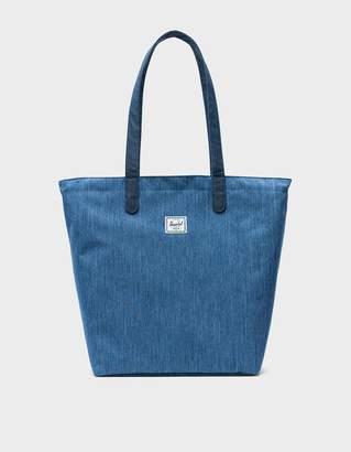 Herschel Mica Tote Bag in Faded Denim/Indigo Denim