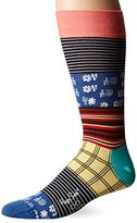 Happy Socks Men's X Iris Apfel 1 Pack Combed Cotton Crew-Mix