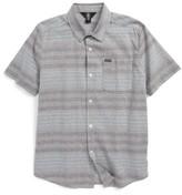 Volcom Boy's Meyer Stripe Woven Shirt